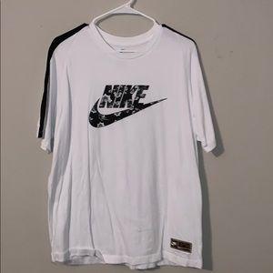 Nike Floral Logo T-Shirt
